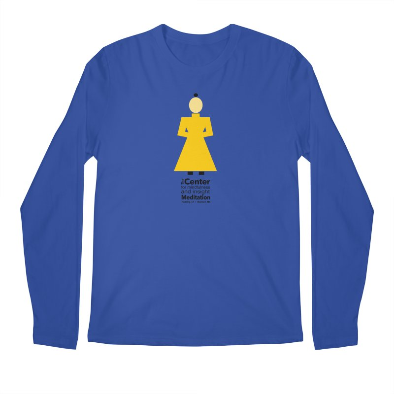 Centered Monk Men's Longsleeve T-Shirt by reddingmeditation's Artist Shop