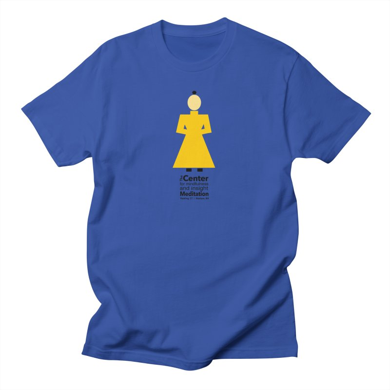 Centered Monk Men's T-Shirt by reddingmeditation's Artist Shop