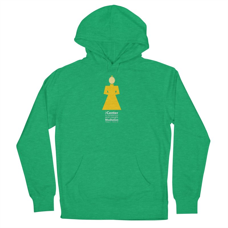 Centered Monk reverse Men's Pullover Hoody by reddingmeditation's Artist Shop