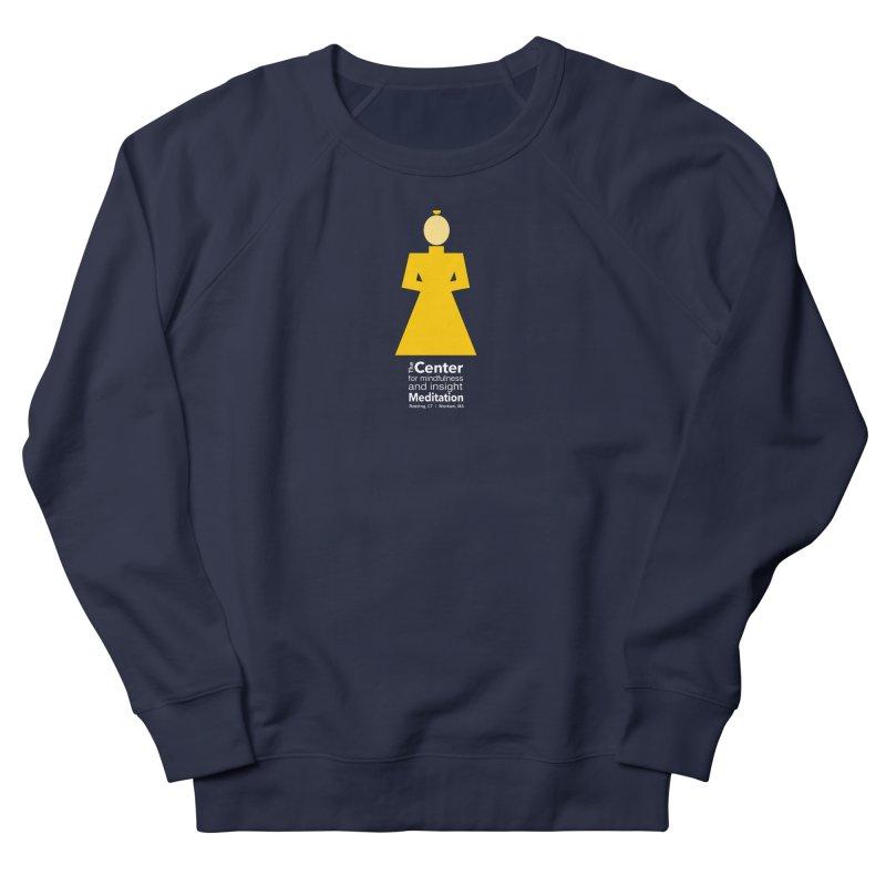 Centered Monk reverse Women's French Terry Sweatshirt by reddingmeditation's Artist Shop