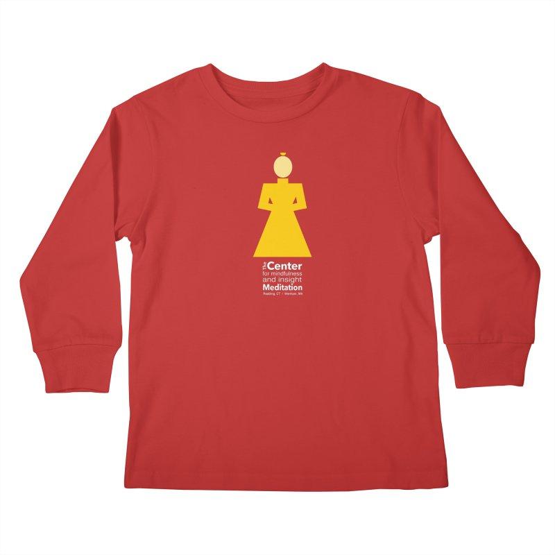 Centered Monk reverse Kids  by reddingmeditation's Artist Shop