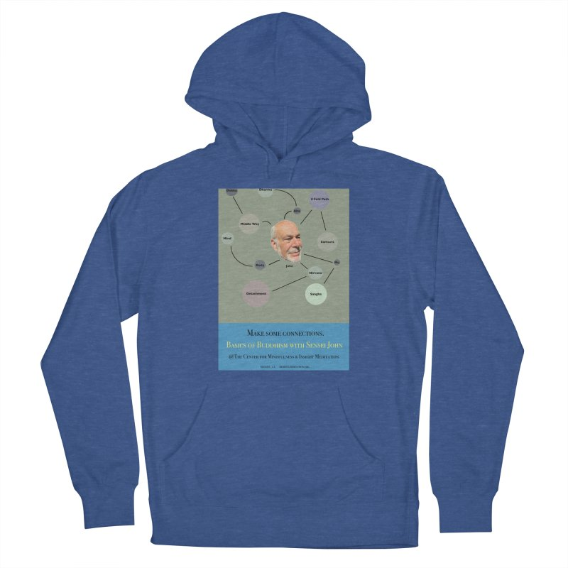 Basics Men's French Terry Pullover Hoody by Redding Meditation's Artist Shop