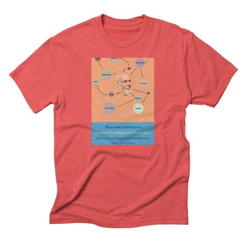 Basics Men's Triblend T-Shirt by reddingmeditation's Artist Shop
