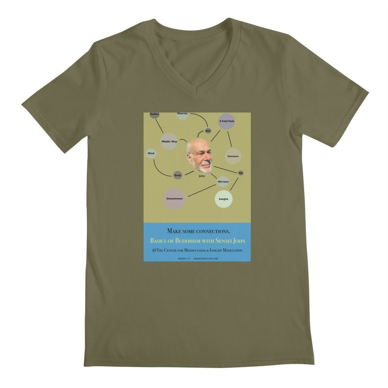 Basics Men's V-Neck by reddingmeditation's Artist Shop