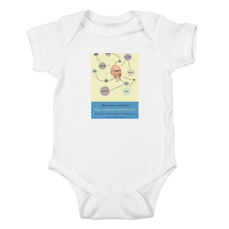 Basics Kids Baby Bodysuit by reddingmeditation's Artist Shop