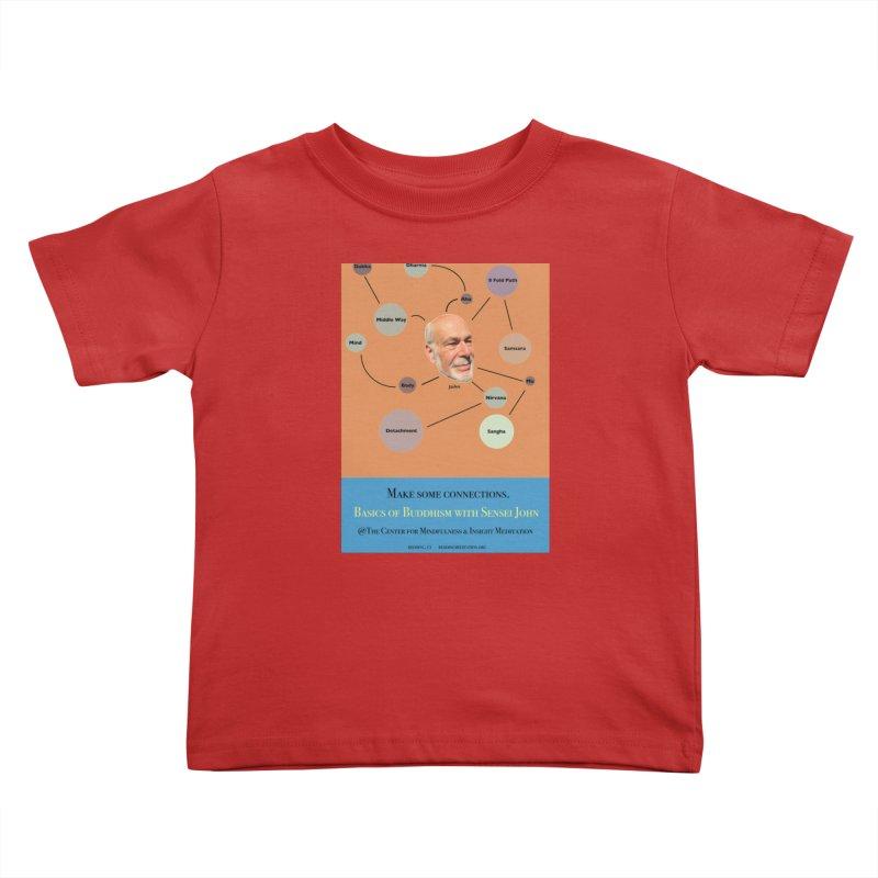 Basics Kids Toddler T-Shirt by Redding Meditation's Artist Shop