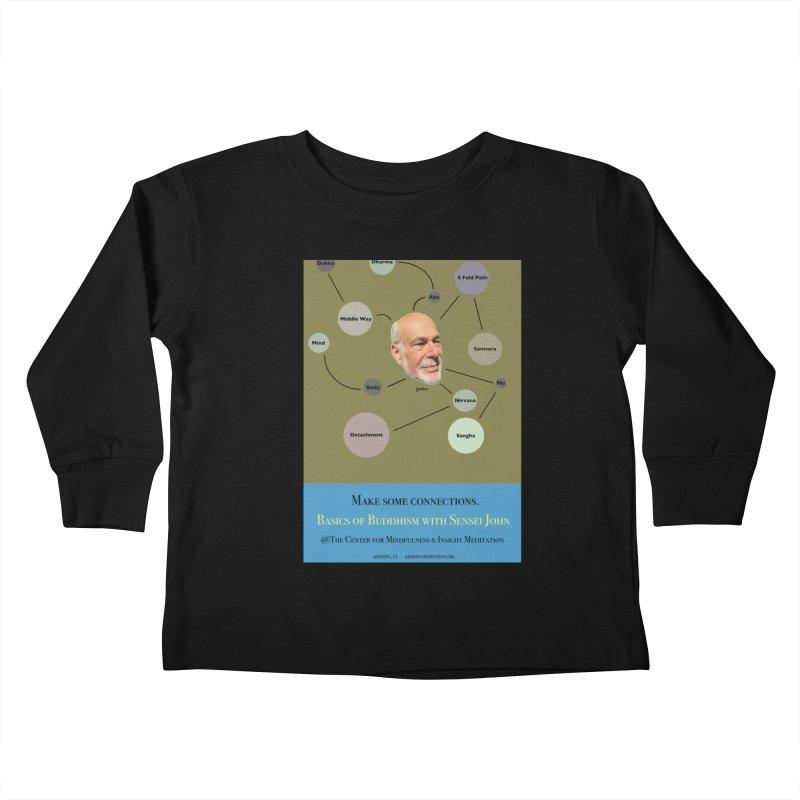 Basics Kids Toddler Longsleeve T-Shirt by Redding Meditation's Artist Shop