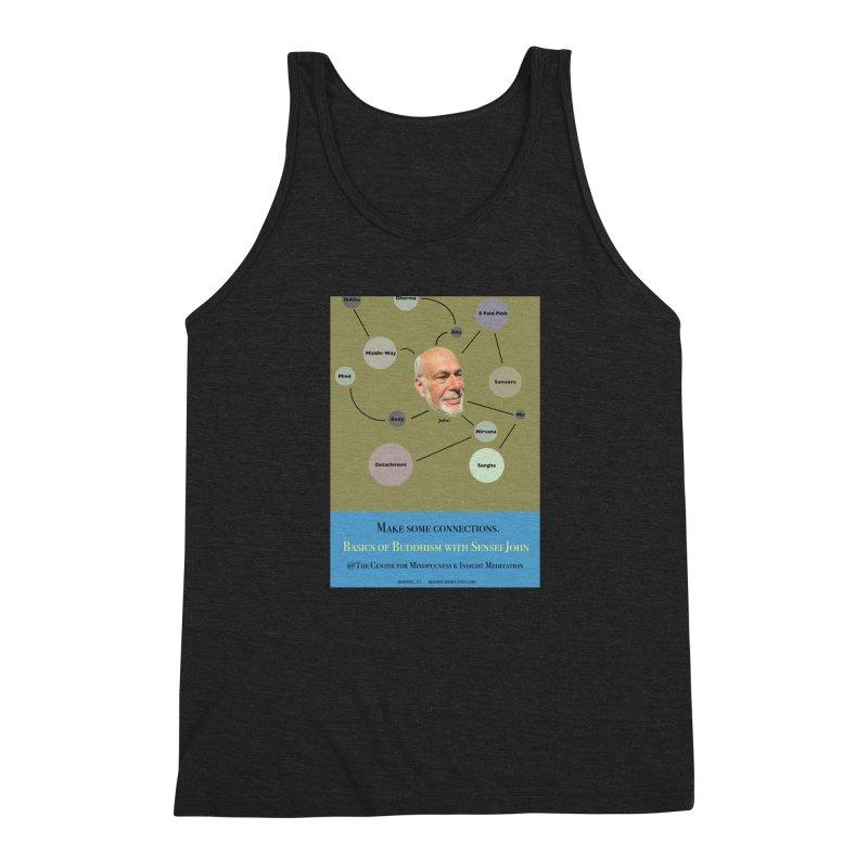 Basics Men's Triblend Tank by reddingmeditation's Artist Shop