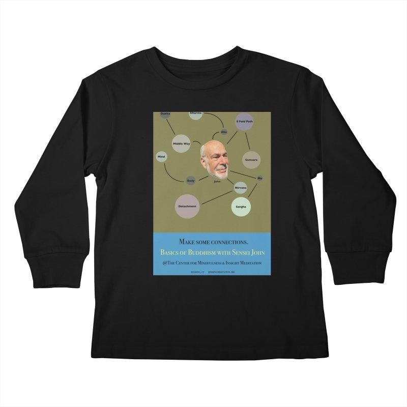 Basics Kids Longsleeve T-Shirt by reddingmeditation's Artist Shop