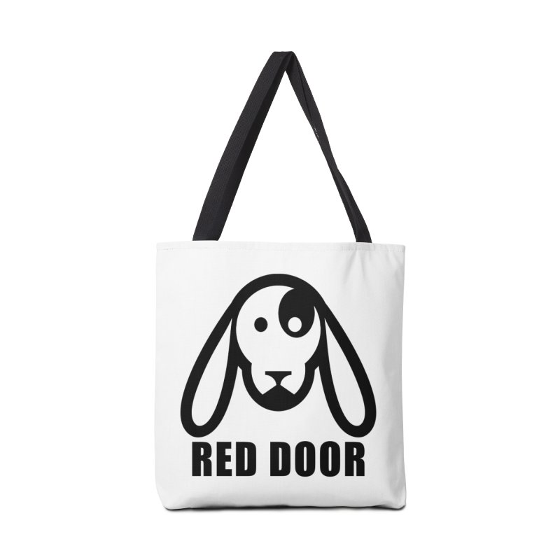 RDdog Accessories Tote Bag Bag by Red Door Animal Shelter's Artist Shop