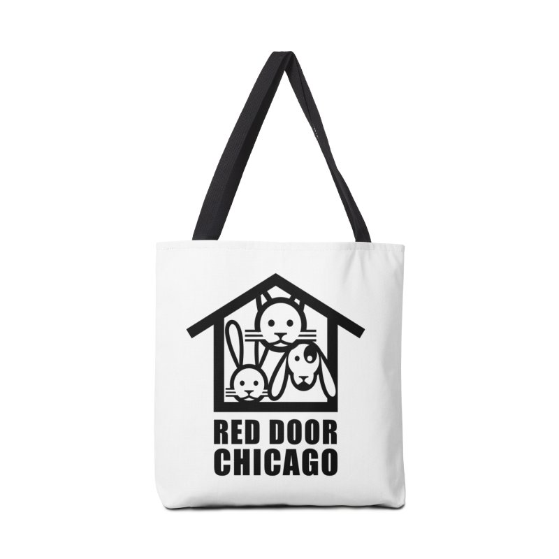 RDChicago Accessories Tote Bag Bag by Red Door Animal Shelter's Artist Shop
