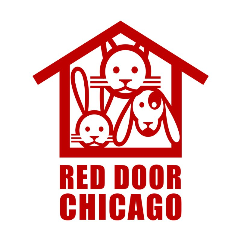 RDChicago red by Red Door Animal Shelter's Artist Shop