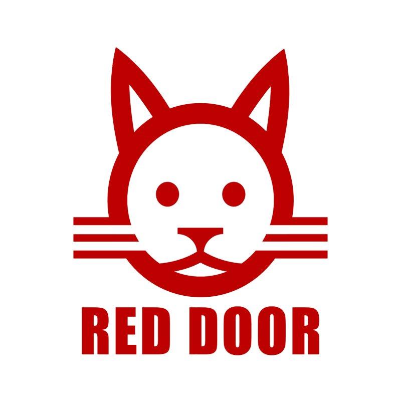 RDcat red by Red Door Animal Shelter's Artist Shop
