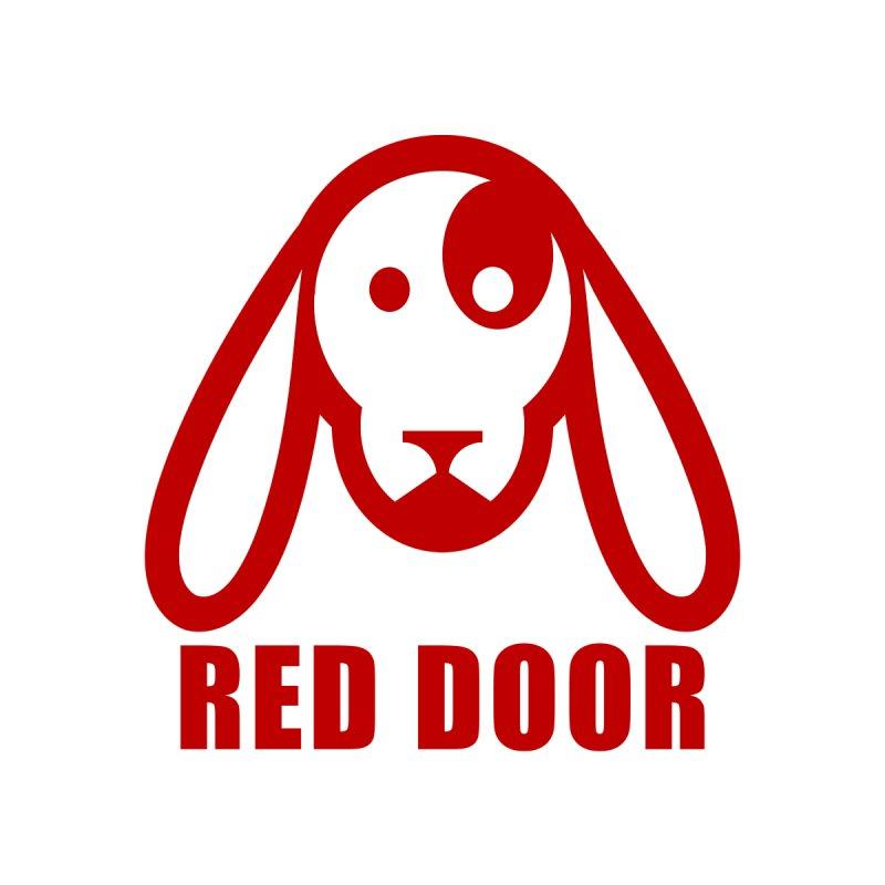 RDdog red by Red Door Animal Shelter's Artist Shop