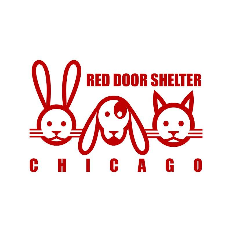 Dogcatrabbit red by Red Door Animal Shelter's Artist Shop