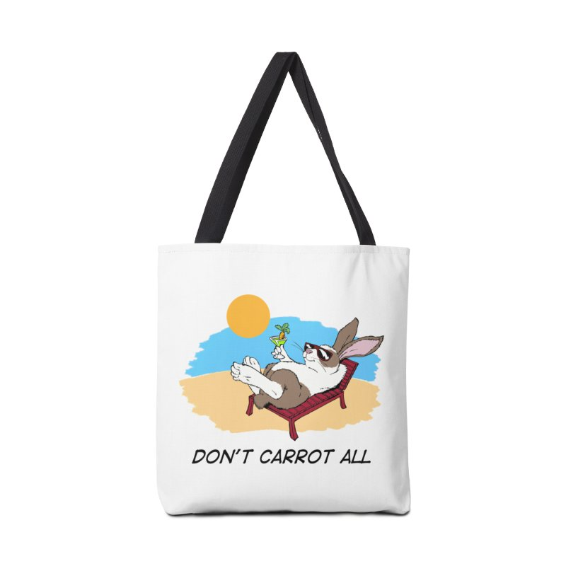 Carrot Accessories Tote Bag Bag by Red Door Animal Shelter's Artist Shop