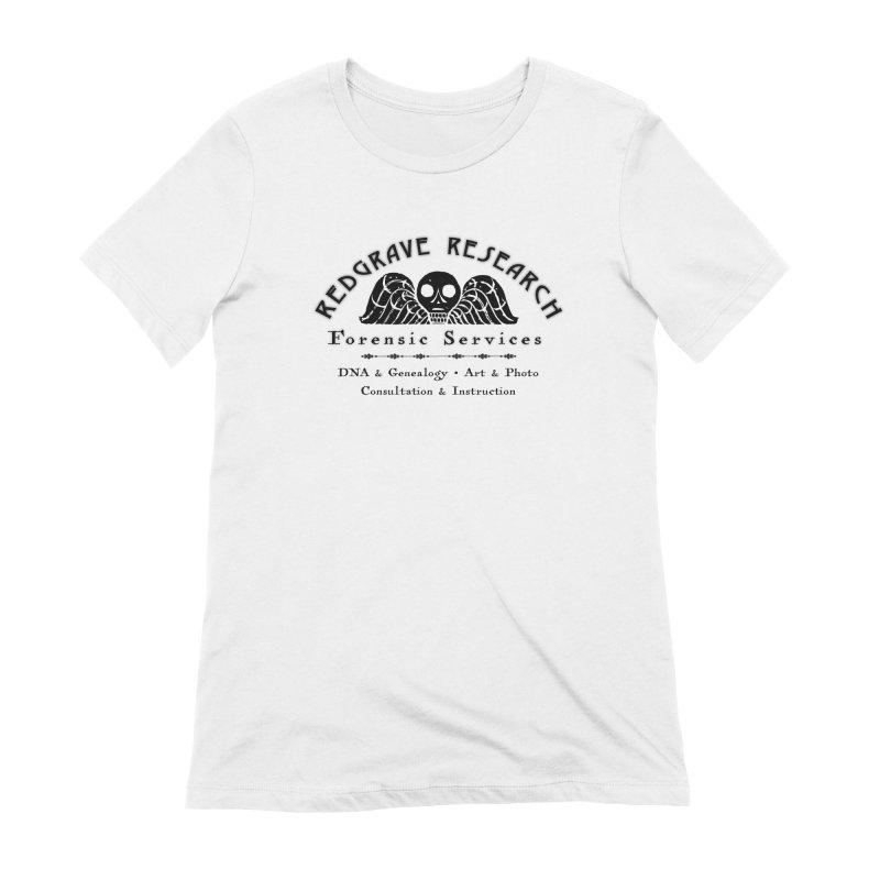 Redgrave Research (black) Women's T-Shirt by redgraveresearch's Shop