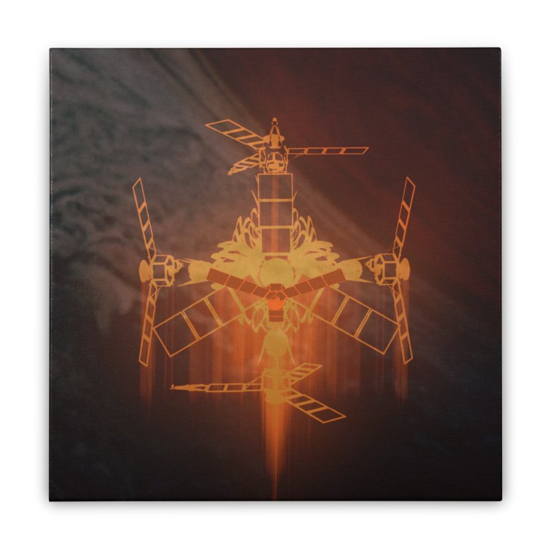 Just a Robot Home Stretched Canvas by RedHeat's Shop