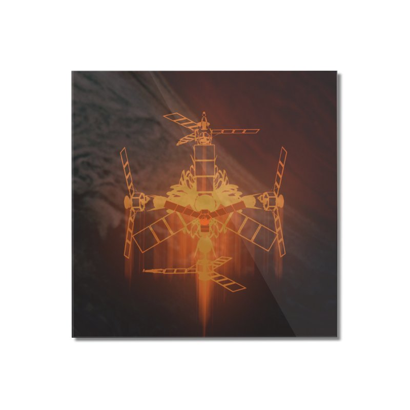 Just a Robot Home Mounted Acrylic Print by RedHeat's Shop