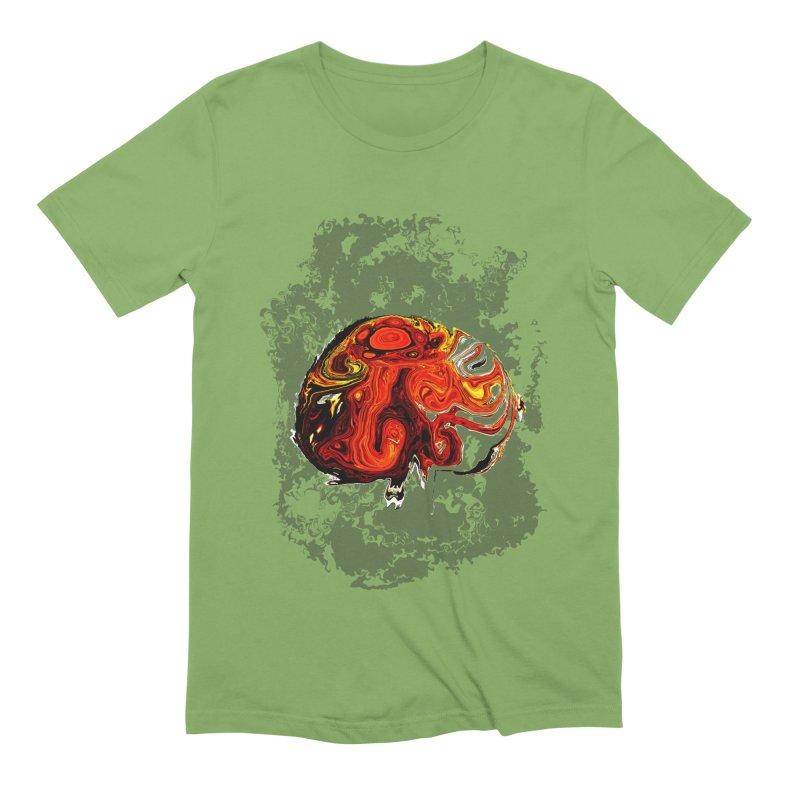 Jovian Brainstorm Men's Extra Soft T-Shirt by RedHeat's Shop