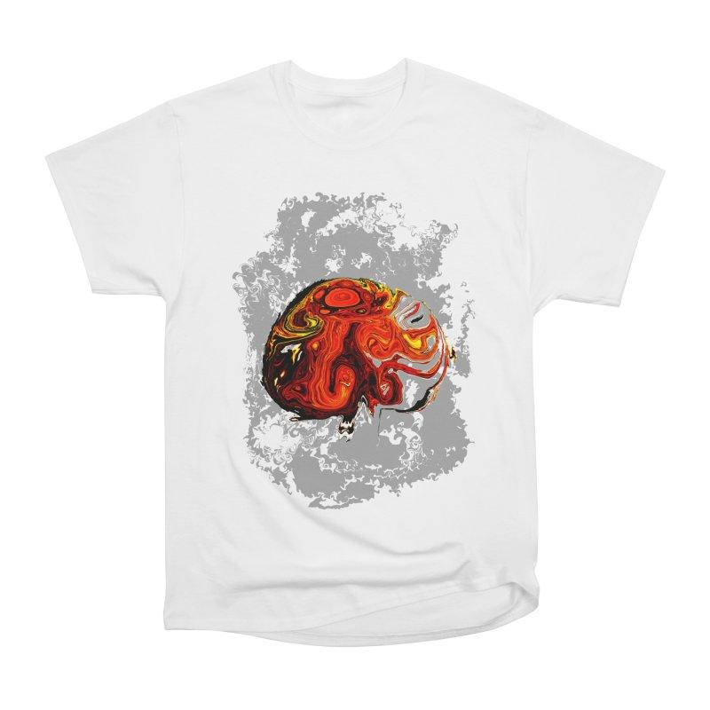 Jovian Brainstorm Men's Heavyweight T-Shirt by RedHeat's Shop