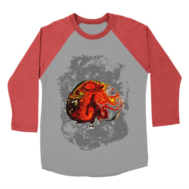 Jovian Brainstorm Men's Baseball Triblend Longsleeve T-Shirt by RedHeat's Shop