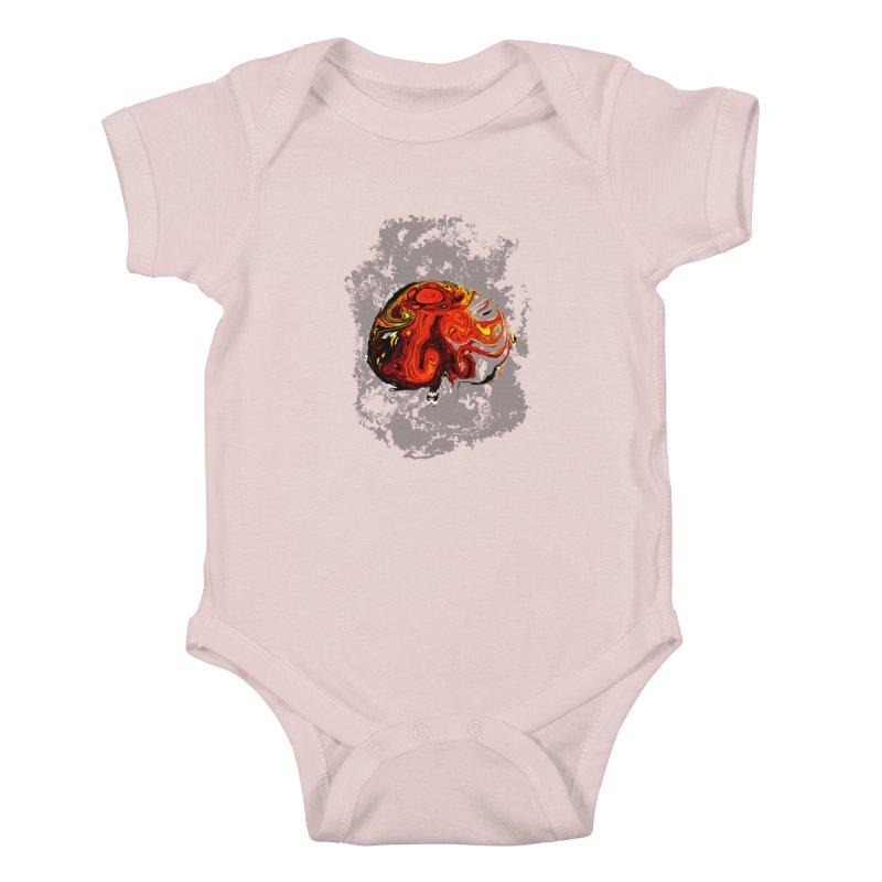 Jovian Brainstorm Kids Baby Bodysuit by RedHeat's Shop