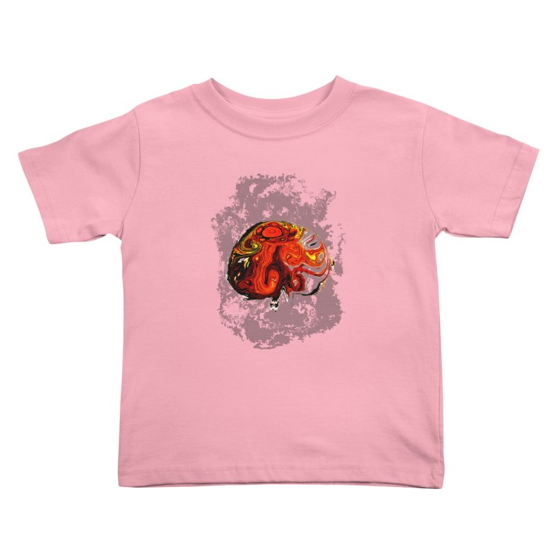 Jovian Brainstorm Kids Toddler T-Shirt by RedHeat's Shop