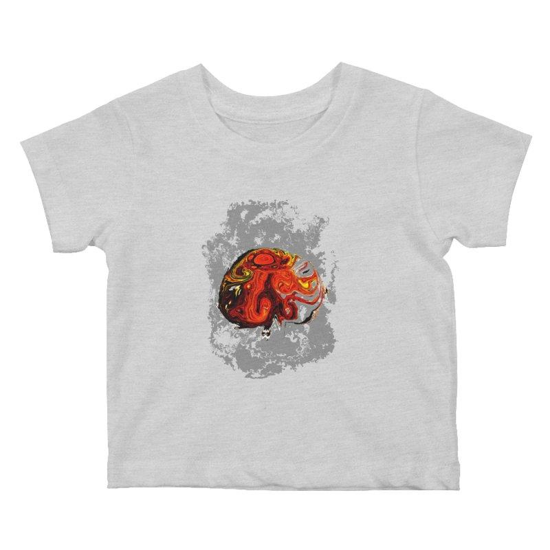 Jovian Brainstorm Kids Baby T-Shirt by RedHeat's Shop