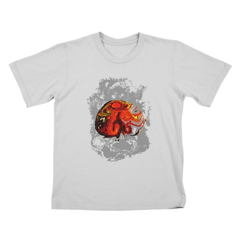 Jovian Brainstorm Kids T-Shirt by RedHeat's Shop