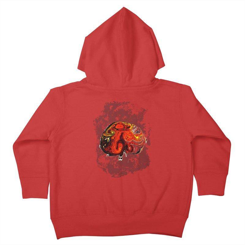 Jovian Brainstorm Kids Toddler Zip-Up Hoody by RedHeat's Shop