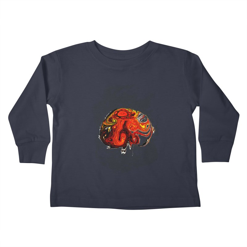 Jovian Brainstorm Kids Toddler Longsleeve T-Shirt by RedHeat's Shop
