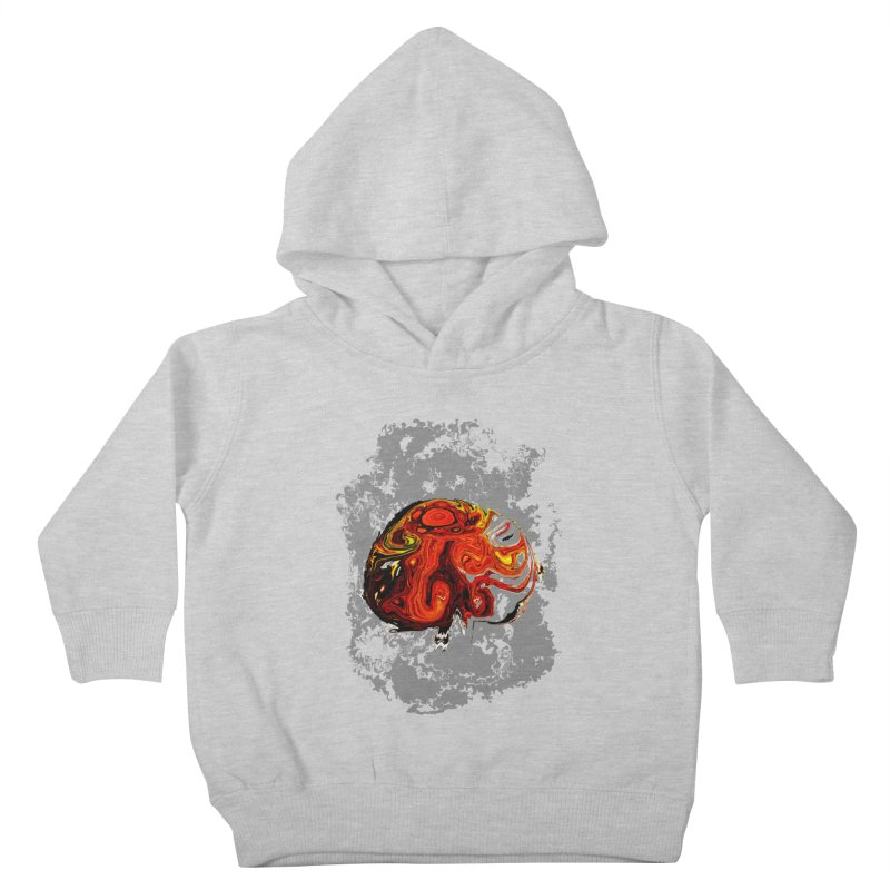 Jovian Brainstorm Kids Toddler Pullover Hoody by RedHeat's Shop