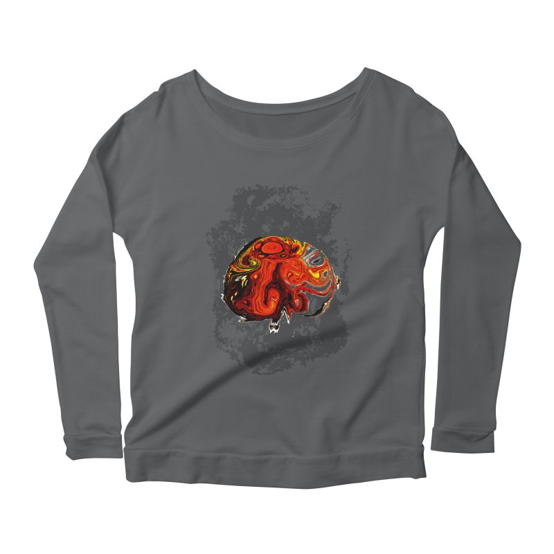 Jovian Brainstorm Women's Scoop Neck Longsleeve T-Shirt by RedHeat's Shop