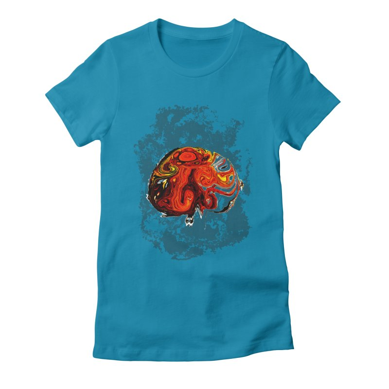 Jovian Brainstorm Women's Fitted T-Shirt by RedHeat's Shop