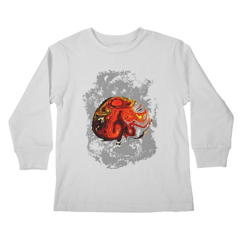 Jovian Brainstorm Kids Longsleeve T-Shirt by RedHeat's Shop