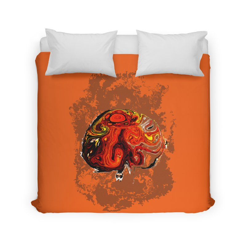 Jovian Brainstorm Home Duvet by RedHeat's Shop