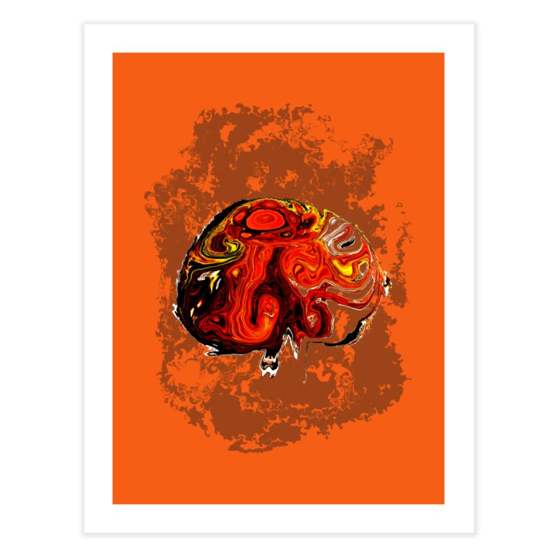 Jovian Brainstorm Home Fine Art Print by RedHeat's Shop