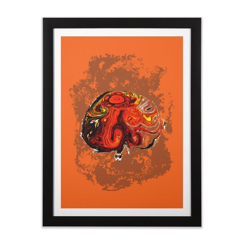 Jovian Brainstorm Home Framed Fine Art Print by RedHeat's Shop