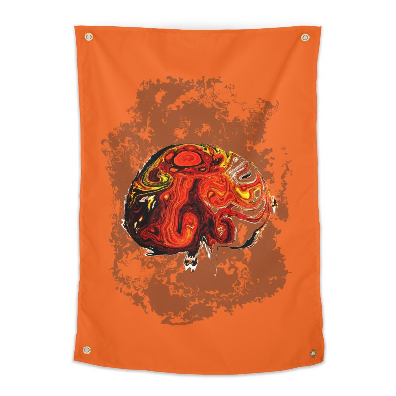 Jovian Brainstorm Home Tapestry by RedHeat's Shop