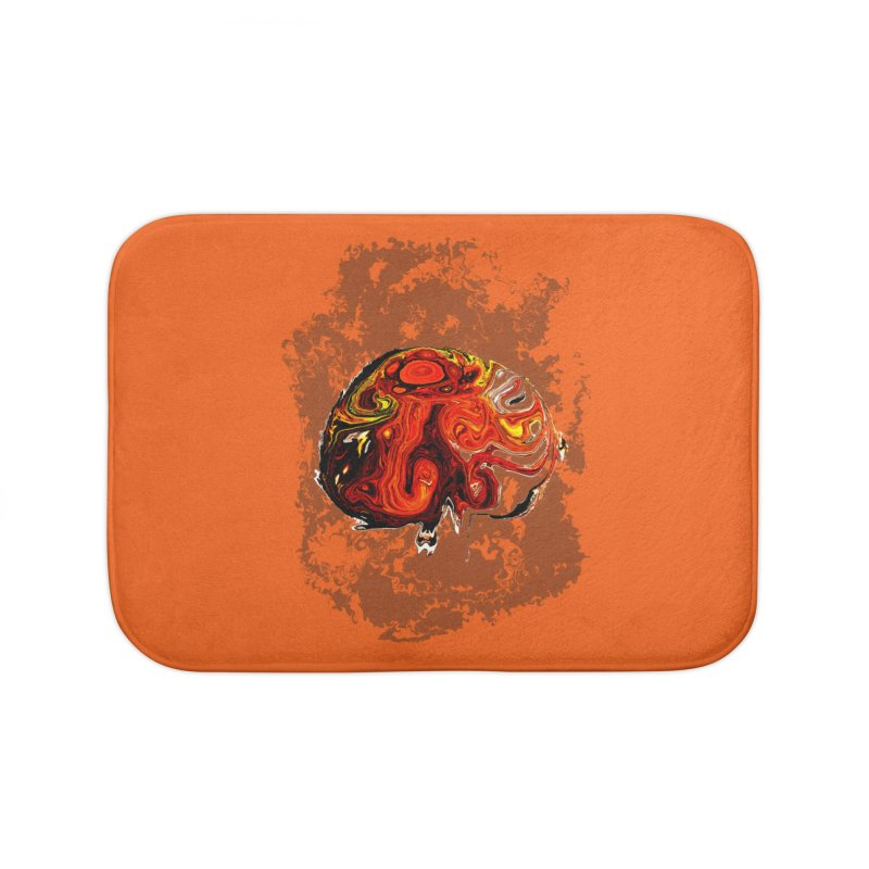 Jovian Brainstorm Home Bath Mat by RedHeat's Shop