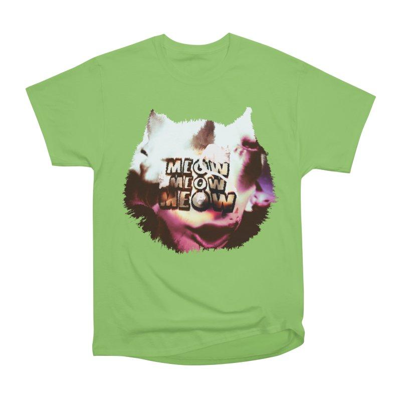 Meow Meow Meow Women's Heavyweight Unisex T-Shirt by RedHeat's Shop
