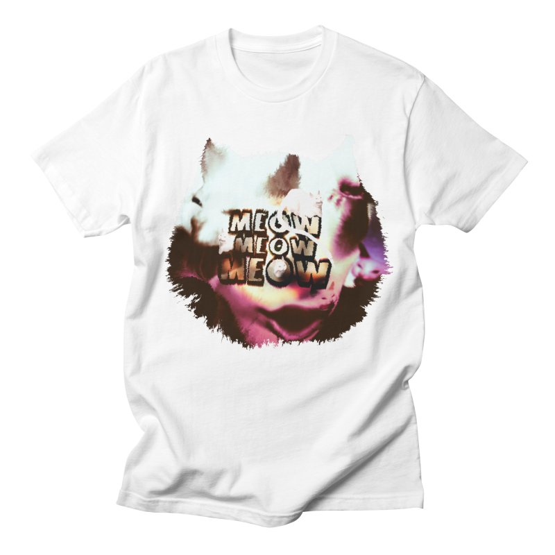 Meow Meow Meow Men's Regular T-Shirt by RedHeat's Shop