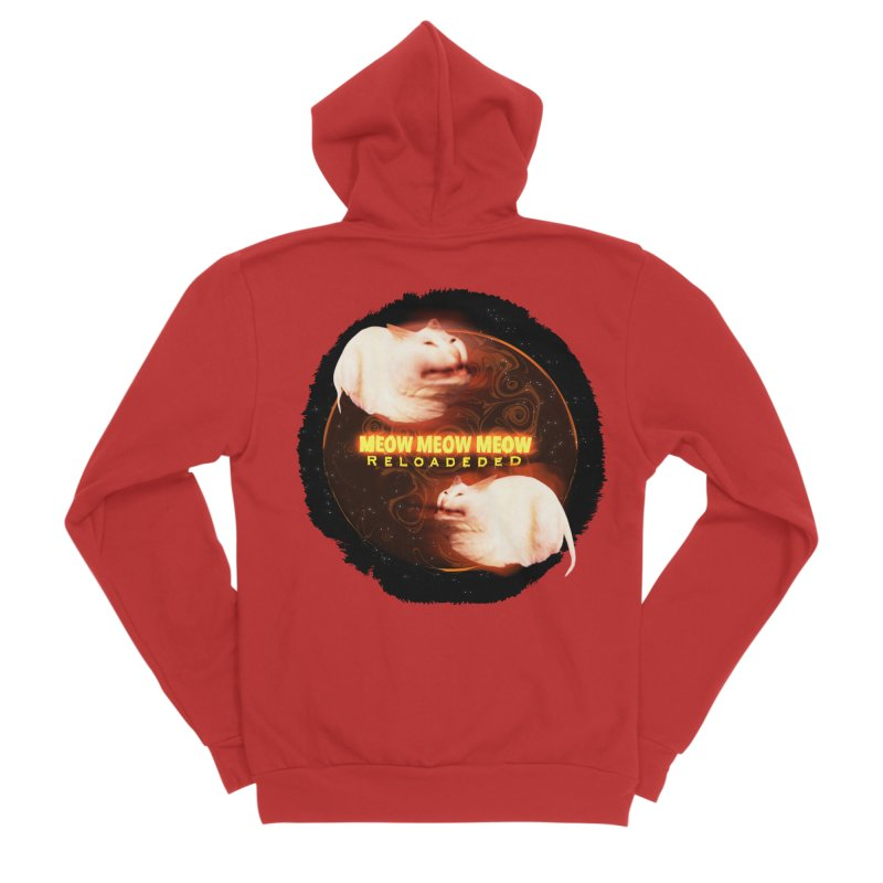 Meow Meow Meow Reloadeded Men's Zip-Up Hoody by RedHeat's Shop