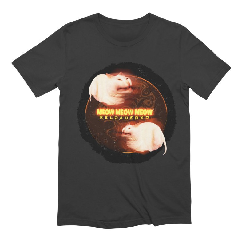Meow Meow Meow Reloadeded Men's Extra Soft T-Shirt by RedHeat's Shop