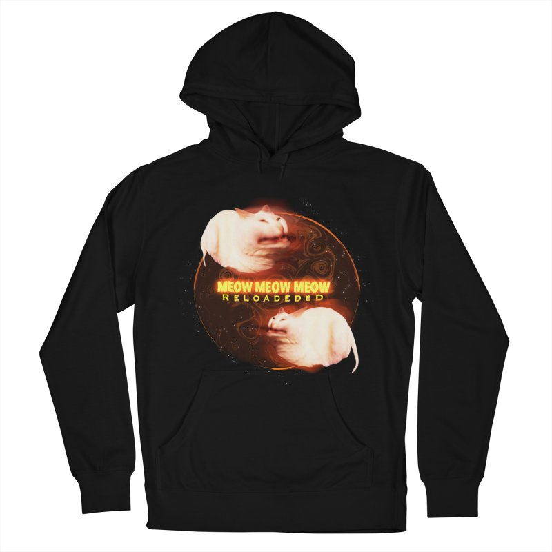 Meow Meow Meow Reloadeded Men's French Terry Pullover Hoody by RedHeat's Shop