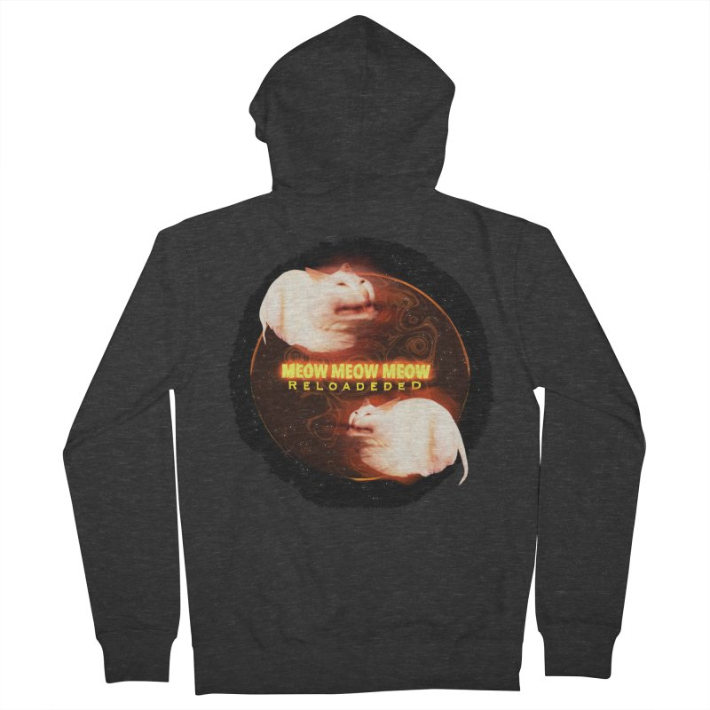 Meow Meow Meow Reloadeded Men's French Terry Zip-Up Hoody by RedHeat's Shop