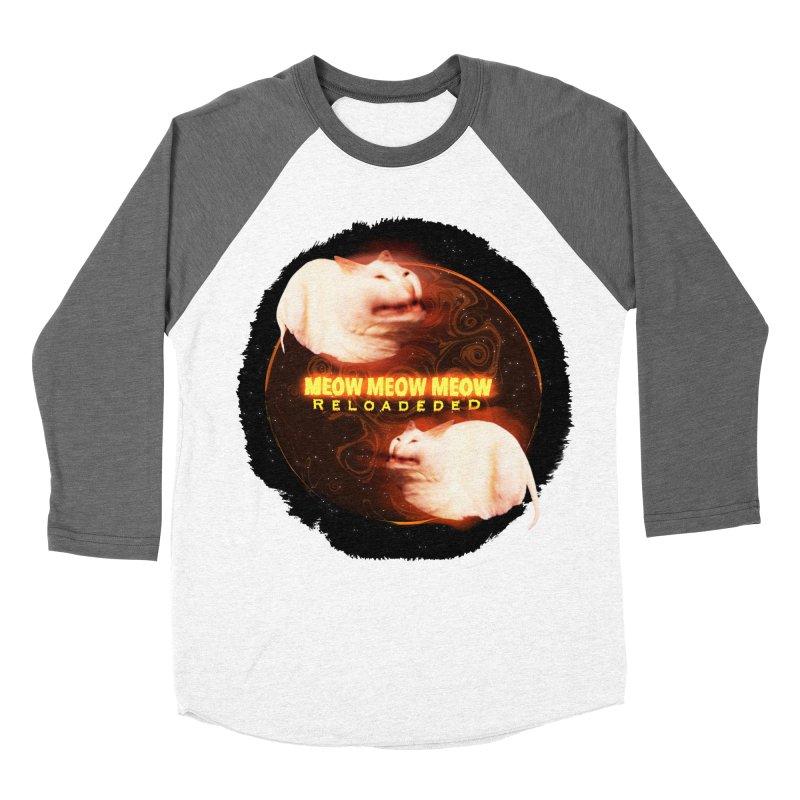 Meow Meow Meow Reloadeded Women's Baseball Triblend Longsleeve T-Shirt by RedHeat's Shop