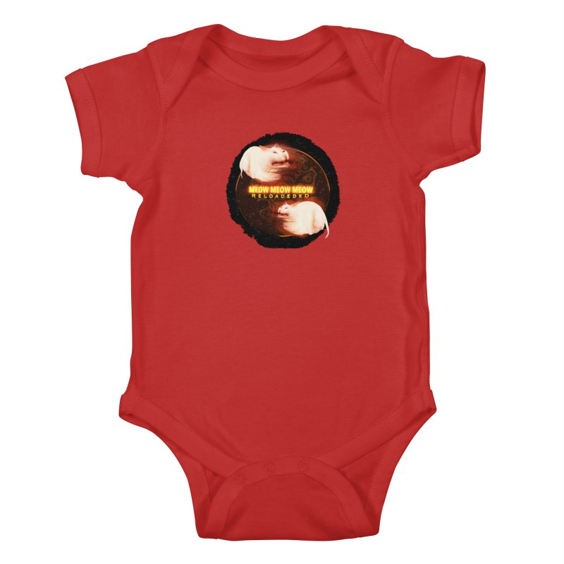 Meow Meow Meow Reloadeded Kids Baby Bodysuit by RedHeat's Shop