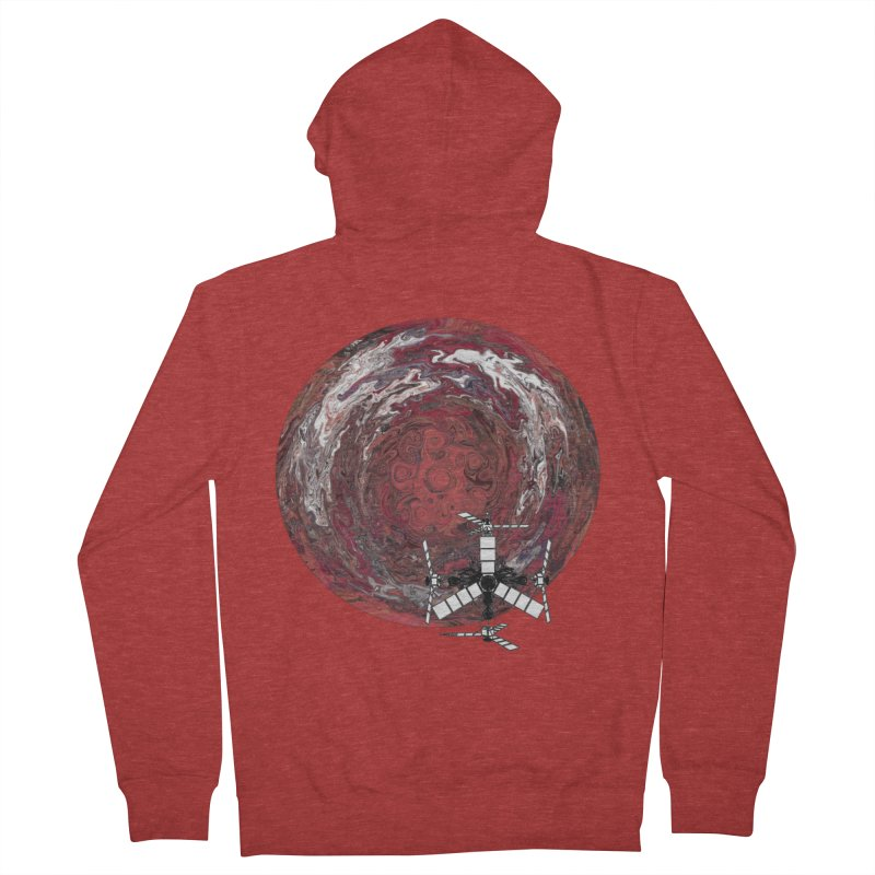 Juno Men's French Terry Zip-Up Hoody by RedHeat's Shop